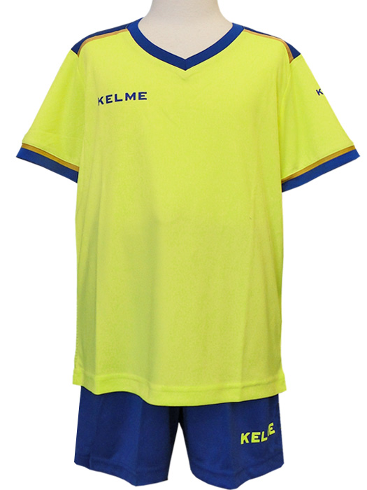 b6632972003 nbs-soccer  (ケルメ) KELME  football shirt   underwear set   neon ...