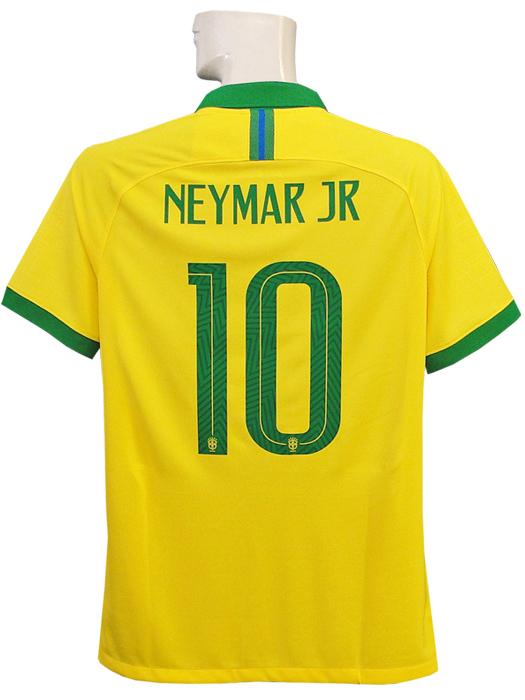【送料無料】(ナイキ) NIKE/19/20ブラジル代表/ホーム/半袖/ネイマール/AJ5026-750