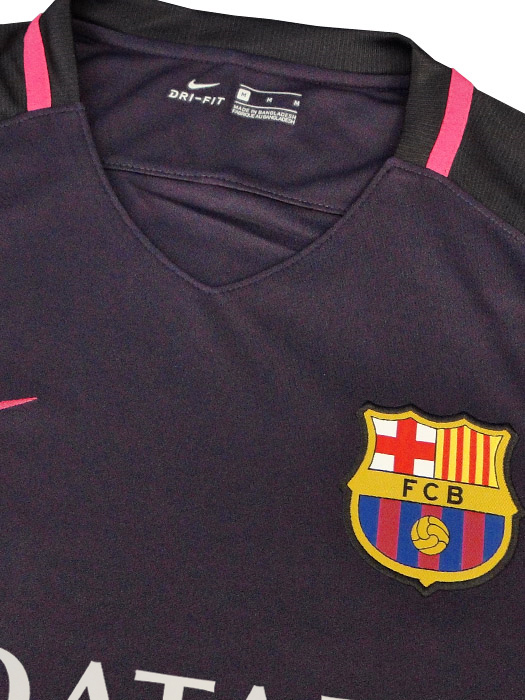 bfc9aebb86b ... (Nike) Nike/16/17 Barcelona away short sleeve / / sponsored ...