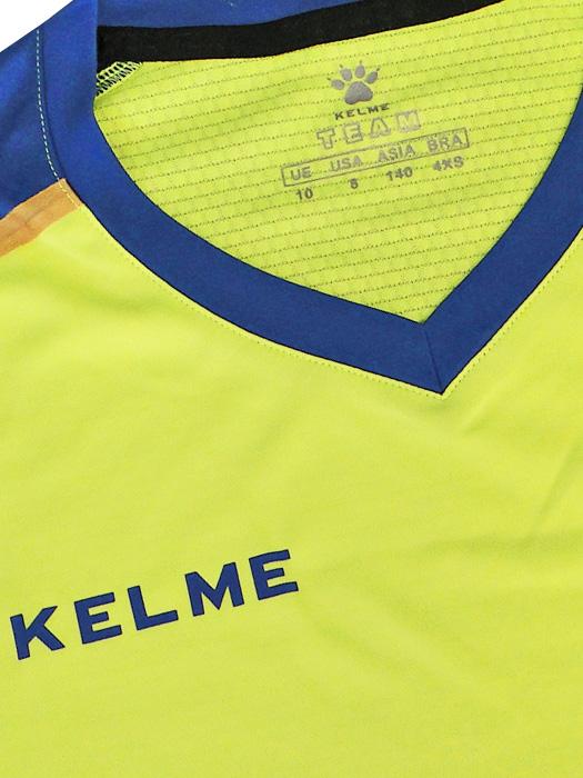 5bafea806fb ... (ケルメ) KELME  football shirt   underwear set   neon yellow X royal blue  ...