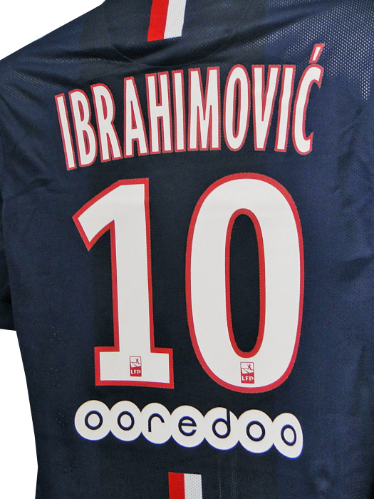 (Nike) Nike/14/15 Paris Saint-Germain / authentic / home / short sleeve / Ibrahimovic / 618756 - 411