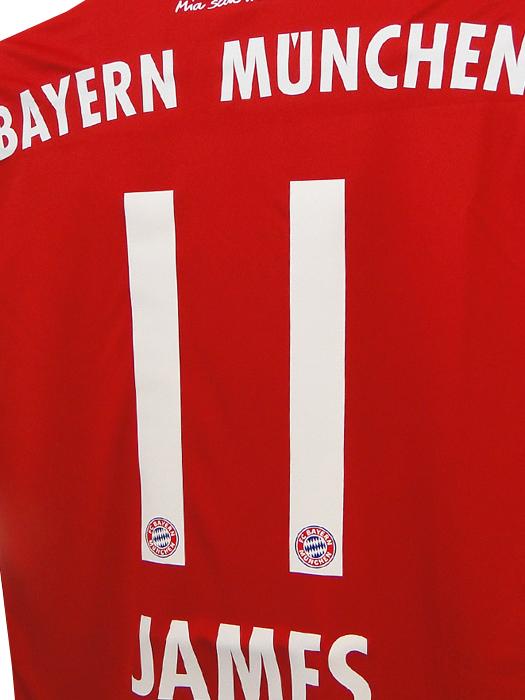 size 40 bd213 55e8d (Adidas) adidas/17/18 Bayern / home / short sleeves / James Rodriguez  /TS0614-AZ7961