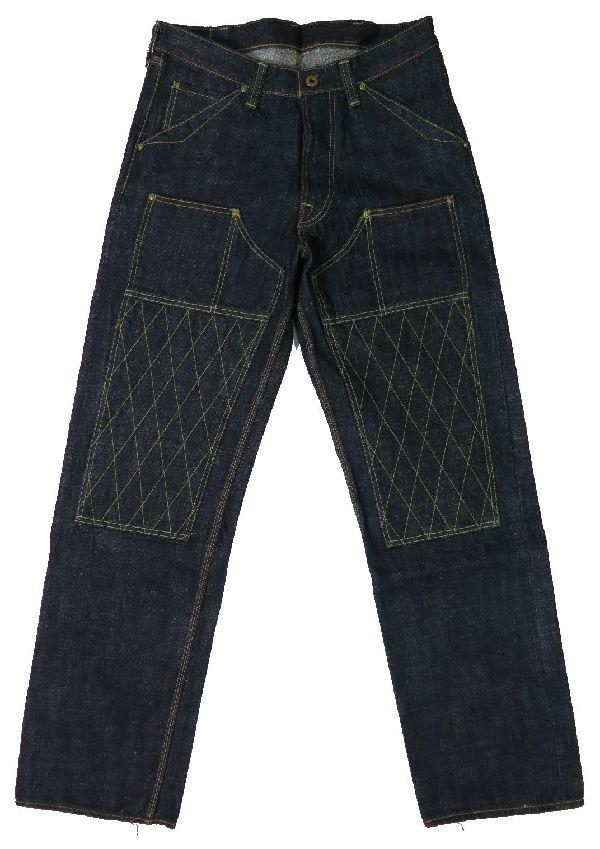 【トロフィークロージング】 ダブルニー スタンダード ダートデニムジーンズ TROPHY CLOTHING 1606 日本製【送料無料】●裾上げ加工無料●ジーンズ保証