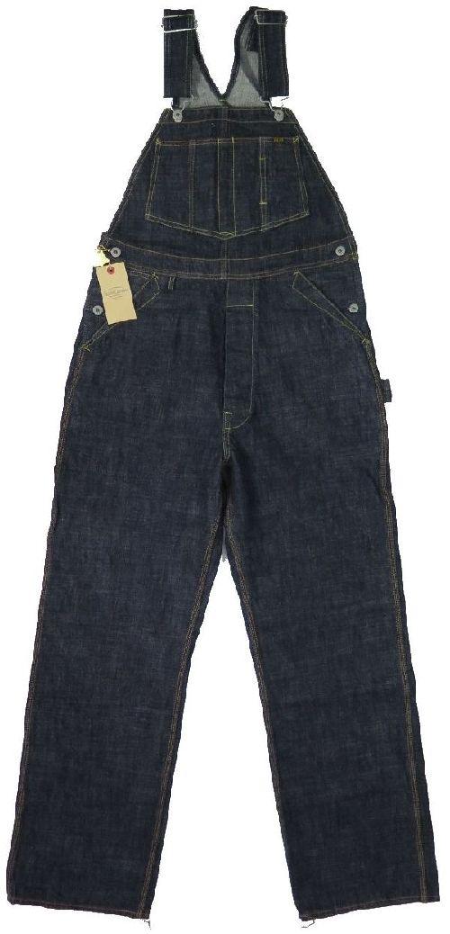 【トロフィークロージング】 カーペンターオーバーオール TROPHY CLOTHING 1603 日本製【送料無料】●裾上げ加工無料●ジーンズ保証