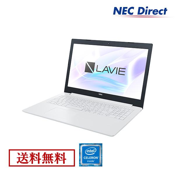 ●【送料無料:Web限定モデル】NECノートパソコンLAVIE Direct NS(Celeron搭載・カームホワイト)(Officeなし・1年保証)(Windows 10 Home)