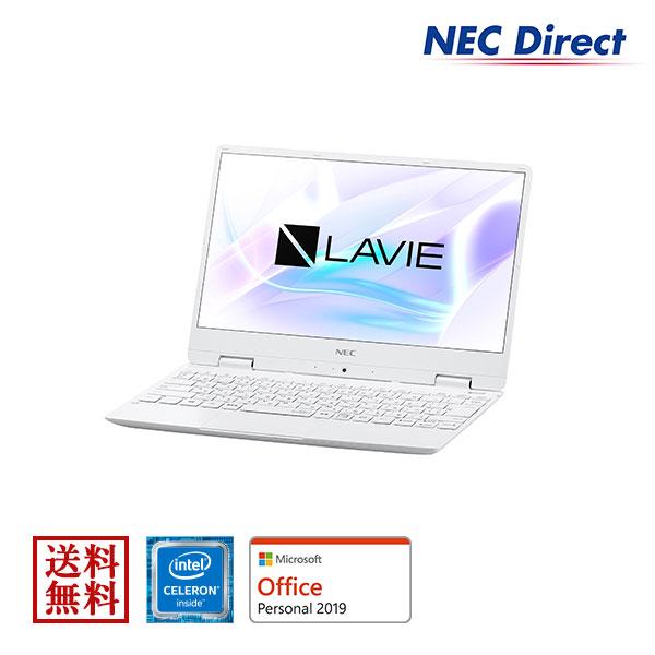 ★ポイント10倍(4/18 13:59 まで)★【送料無料:Web限定モデル】NECノートパソコンLAVIE Direct NM(Celeron搭載・パールホワイト)(Office Personal 2019・1年保証)(Windows 10 Home)