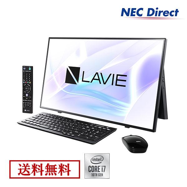 ●【送料無料:Web限定モデル】NECデスクトップパソコンLAVIE Direct HA(Core i7搭載・ファインブラック)(ブルーレイ・地デジ・Officeなし・1年保証)