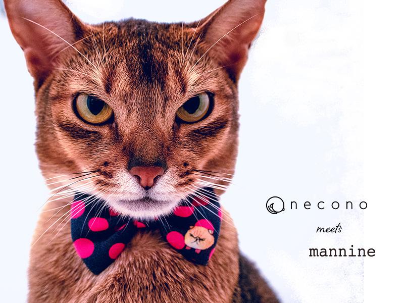 再再販 お洒落を楽しむねこちゃんに サイズは30cmまで調整可能 軽量首輪 プレゼントにもおススメ 送料無料 necono - ネコノ mannine cat Ribbon necklace 猫 リボン 首輪 記念日 おしゃれ 安全 ネックレス 誕生日に コラボレーション かわいい 日本製 至上 ブランド マンナイン 赤 ギフト 全15色 ファッション 高級