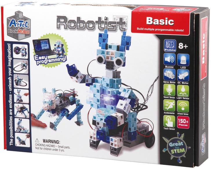 【おもちゃ】【アーテックブロック】【送料無料!】【玩具・ブロック 教材キット】ロボティスト ベーシック 153142 多様化 組み立て 脳トレ