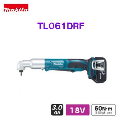 マキタ アングルインパクトドライバTL061DRF【18V】充電式アングルインパクトドライバー【バッテリ・充電器・ケース付】【電動工具】