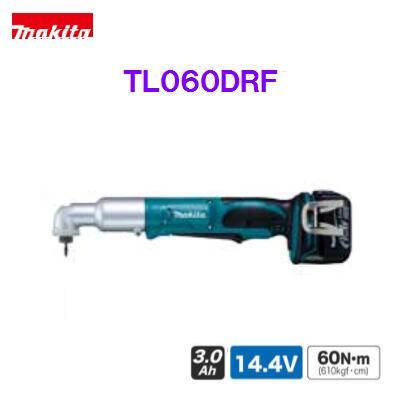 マキタ アングルインパクトドライバTL060DRF 【 14.4V 】充電式アングルインパクトドライバー【バッテリ・充電器・ケース付】【電動工具】