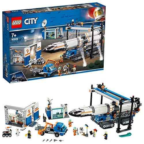 安売り NEW売り切れる前に☆ 12時までの決済で当日発送 土日は翌営業日 レゴ LEGO シティ おもちゃ 巨大ロケットの組み立て工場 60229 男の子 ブロック