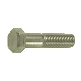驚きの値段 M33×210 六角ボルトの半ネジタイプです 在庫処分 中ボルト 鉄 六角ボルト 半ねじ 10個入 クロメート M33x210