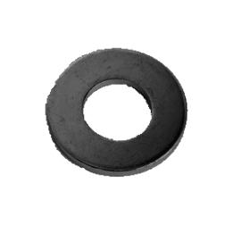 鉄 平ワッシャー(特寸) 11x38x3.2(11.0+0.4) 三価黒クロメート 【400個入】