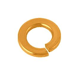【8】 ネジの緩み止めにリン青銅製ばね座金 りん青銅 スプリングワッシャー(2号) 8 生地 【1500個入】