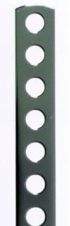 材質:鉄 表面処理:クロームメッキ 柔らかく曲げやすい 数量限定 曲板《マゲイタ》7mm穴 クロームメッキ 100mm 2020 新作 1セット 10個入
