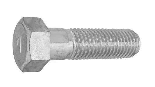 鉄(S45C)/クロメート [小形] 7マーク 六角ボルト (細目・半ねじ)M12×35 《ピッチ=1.5》 【 小箱 : 1箱/90本入り 】