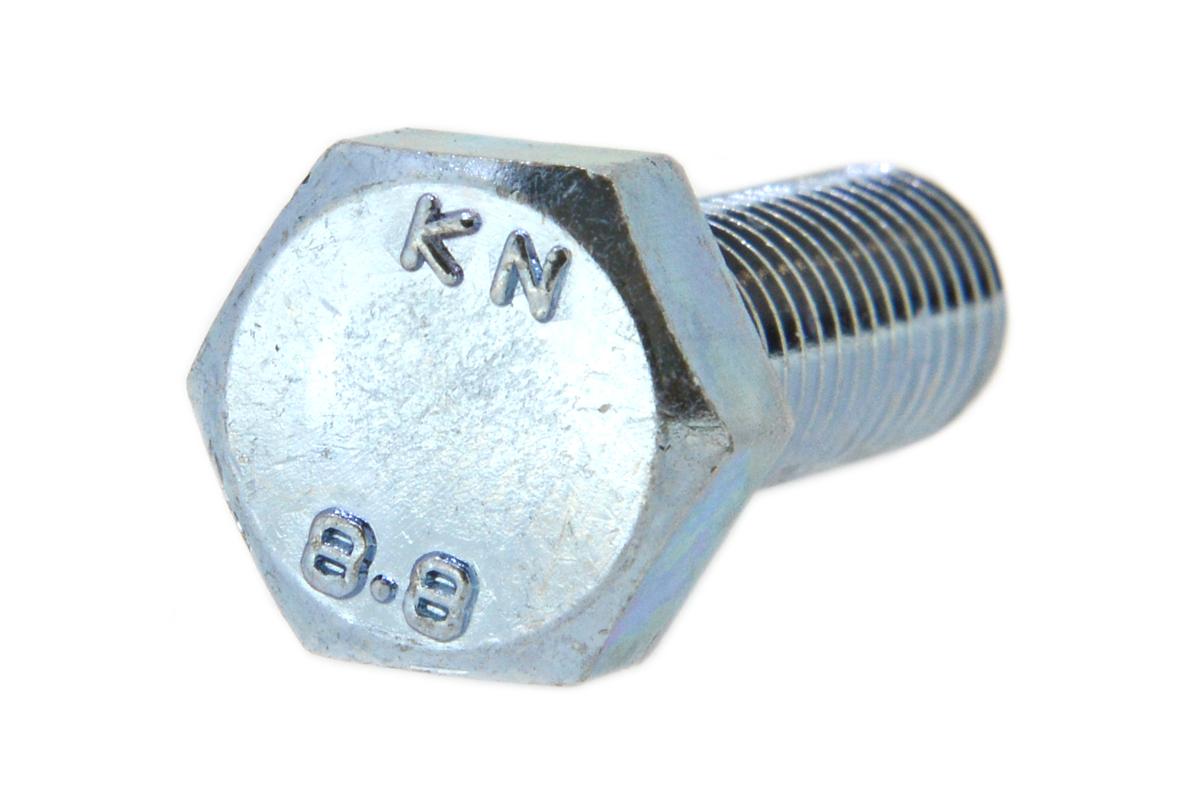 鉄(S45C)/ユニクロ 六角ボルト [強度区分:8.8] (全ねじ)M12×55 【 小箱 : 1箱/100本入り 】