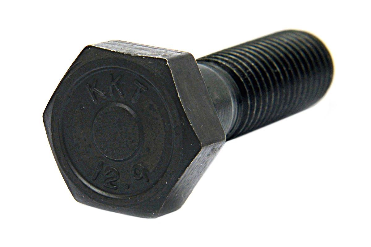 鉄(SCM435)/酸化鉄被膜 六角ボルト [強度区分:12.9] (半ねじ)M20×230 【 お得セット : 10本入り 】