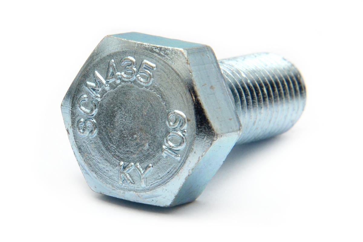 鉄(SCM435)/ユニクロ 六角ボルト [強度区分:10.9] (細目・全ねじ)M14×30 《ピッチ=1.5》 【 小箱 : 1箱/90本入り 】