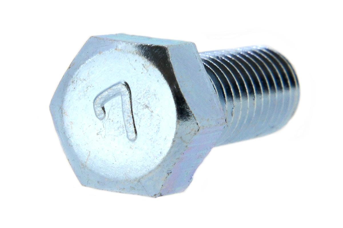 鉄(S45C)/ユニクロ [小形] 7マーク 六角ボルト (全ねじ)M14×40 【 小箱 : 1箱/90本入り 】
