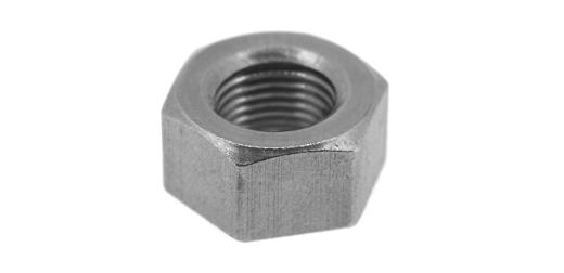 鉄/クローム 六角ナット [1種] 切削加工(左ねじ・細目) M12 《ピッチ=1.5》 【 小箱 : 1箱/200個入り 】