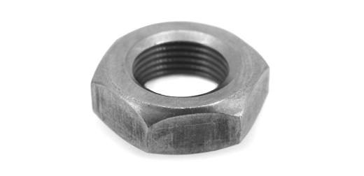 鉄(S45C・焼入れ)/黒色クロメート 六角ナット [3種] (細目)M22 《ピッチ=1.5》 【 小箱 : 1箱/150個入り 】
