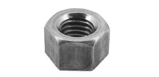 SUS321/生地 10割 六角ナット [1種]M18 【 お得セット : 10個入り 】