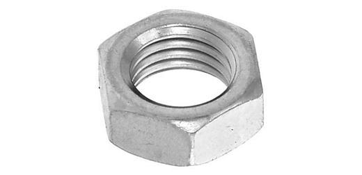 鉄/ニッケル 小形 六角ナット [3種] (細目)M16 《ピッチ=1.5》 【 小箱 : 1箱/150個入り 】