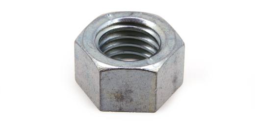 鉄(S45C)/生地 小形 六角ナット [1種]M20 【 小箱 : 1箱/50個入り 】