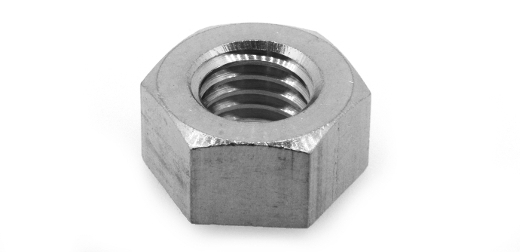 低カドミウム黄銅/クローム 六角ナット [1種] (細目)M16 《ピッチ=1.25》 【 小箱 : 1箱/100個入り 】