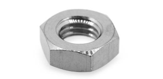 低カドミウム黄銅/クローム 六角ナット [3種]M3.5 【 小箱 : 1箱/5000個入り 】