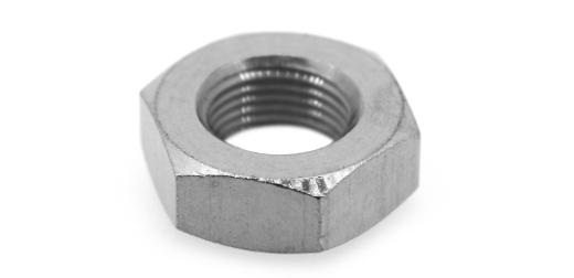 低カドミウム黄銅/クローム 六角ナット [3種] (細目)M5 《ピッチ=0.5》 【 小箱 : 1箱/2500個入り 】
