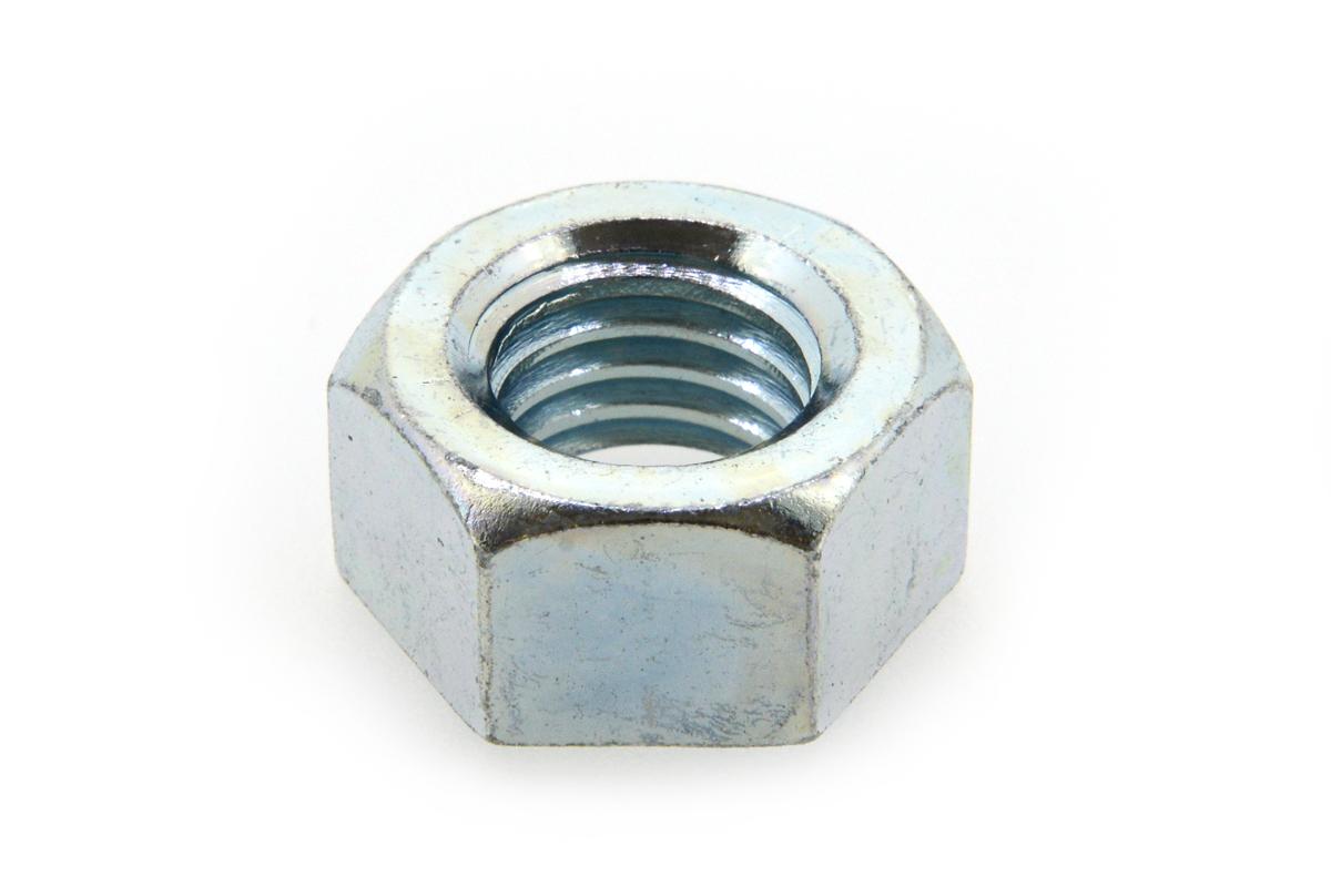 鉄/三価ホワイト 六角ナット [1種]M39 【 お得セット : 10個入り 】