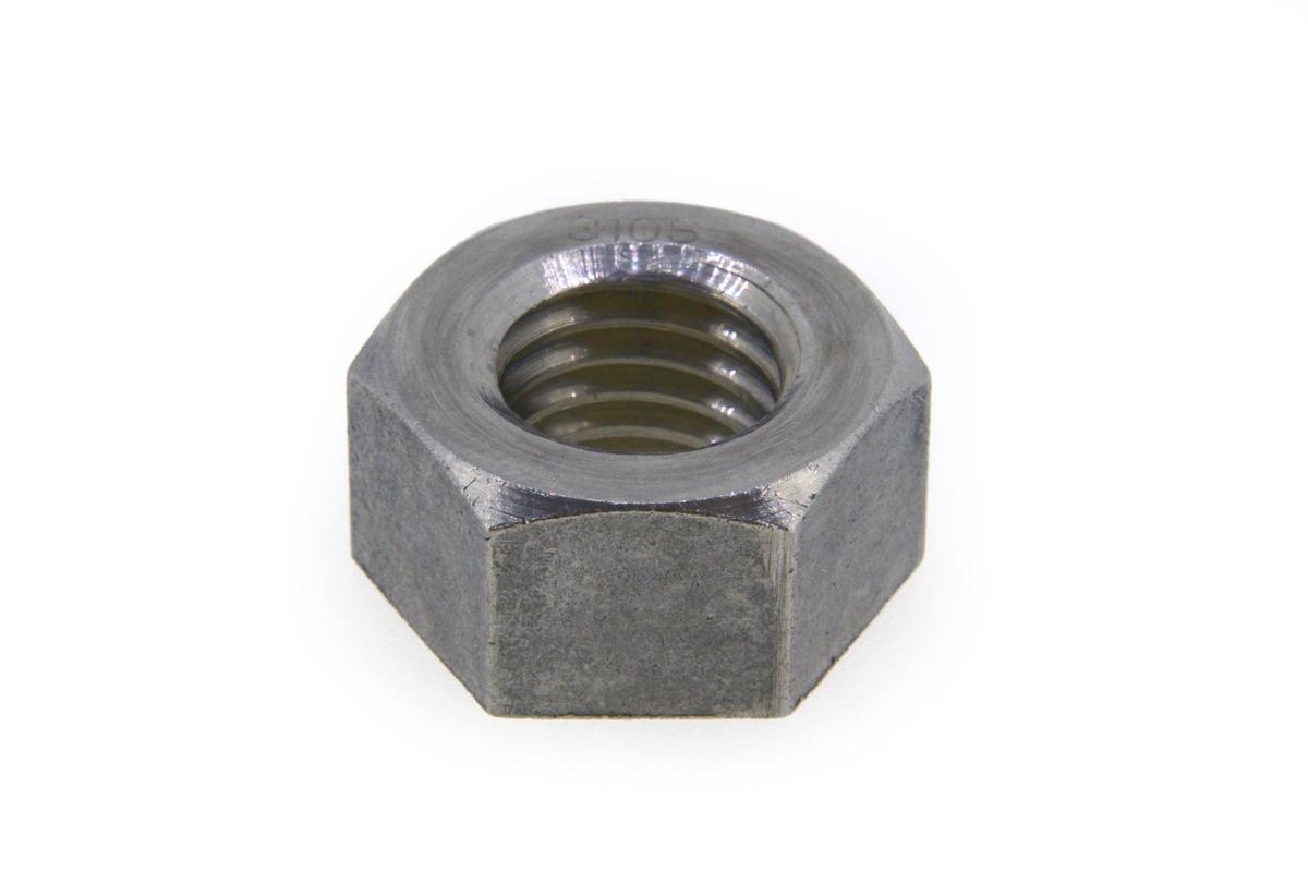 SUS310S/生地 六角ナット [1種] 切削加工M18 【 お得セット : 10個入り 】