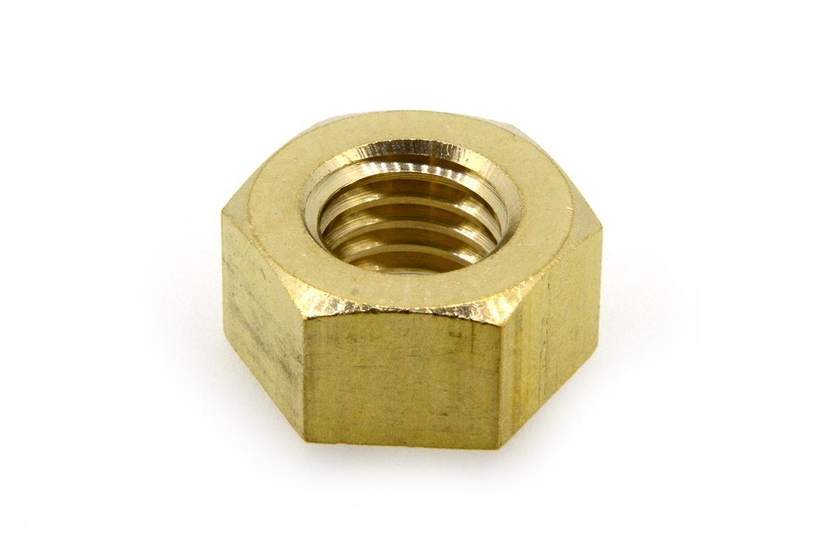 低カドミウム黄銅/生地 六角ナット [1種]M1.6 【 小箱 : 1箱/5000個入り 】