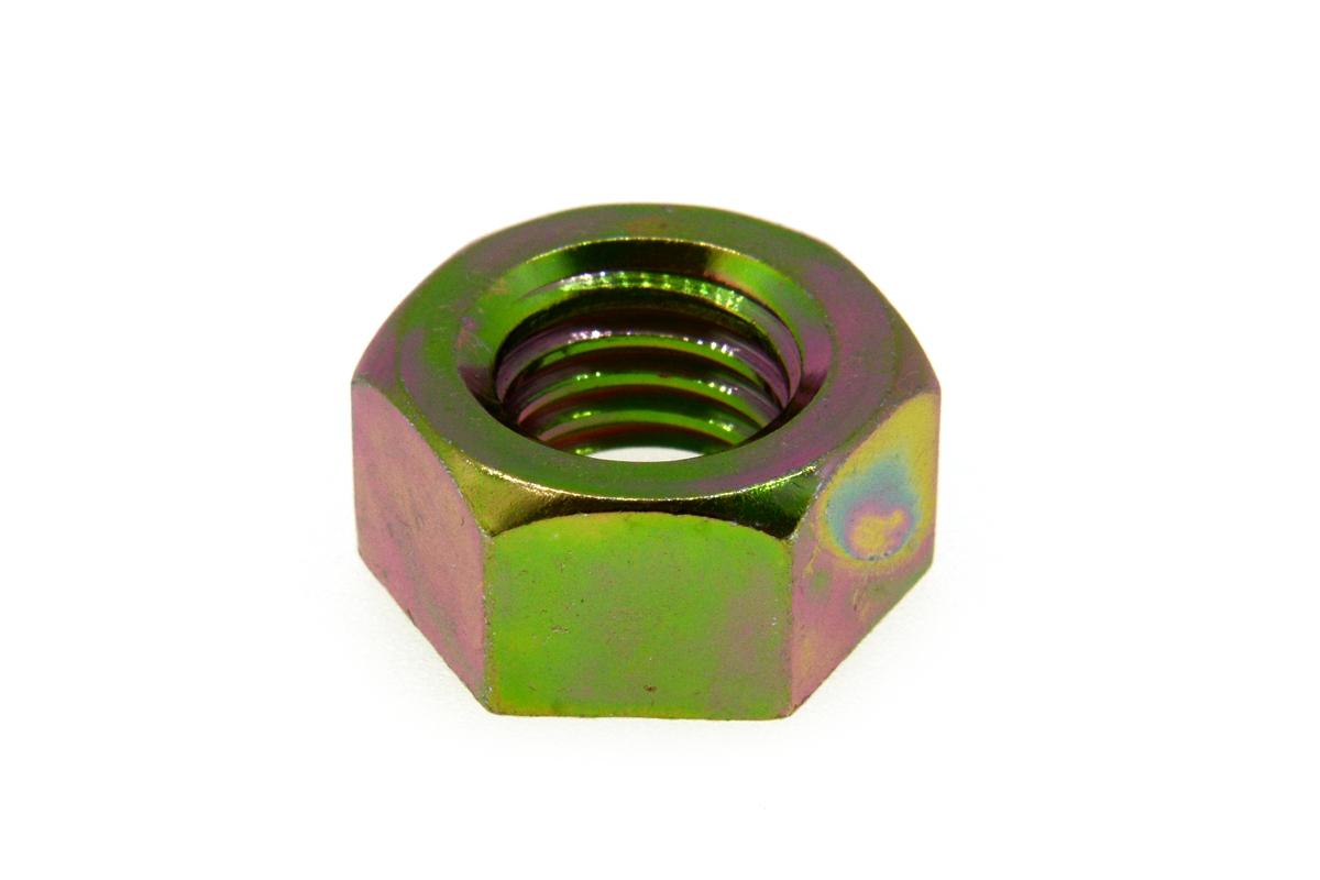 鉄/クロメート 六角ナット [1種] 切削加工 (細目) M16 《ピッチ=1.25》 【 小箱 : 1箱/100個入り 】