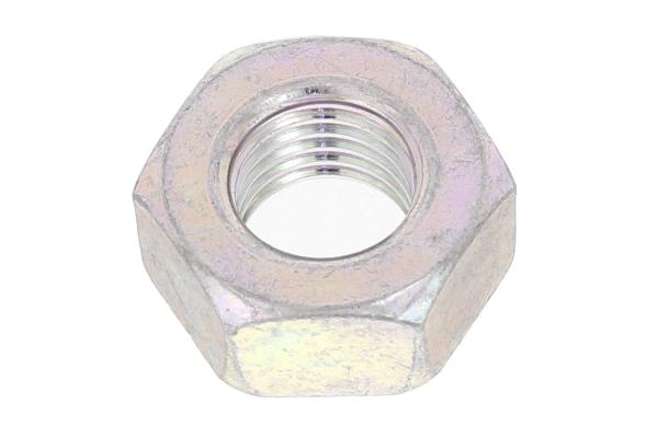 鉄/三価ホワイト 六角ナット [1種] (細目)M6 《ピッチ=0.75》 【 小箱 : 1箱/1500個入り 】