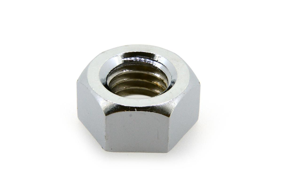 鉄/クローム 六角ナット [1種] (細目)M20 《ピッチ=2.0》 【 小箱 : 1箱/50個入り 】