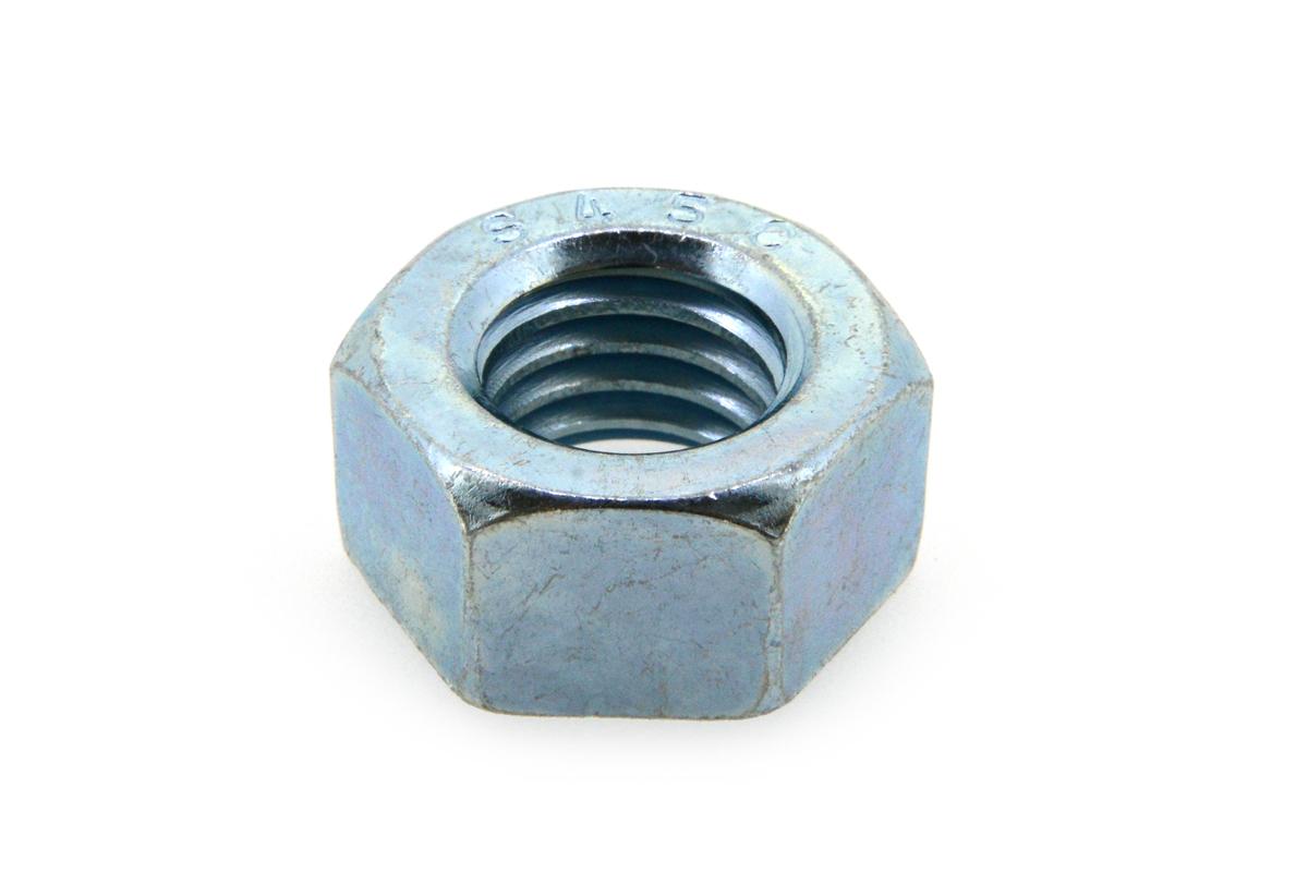 鉄(S45C)/ユニクロ 六角ナット [1種] (細目)M33 《ピッチ=2.0》 【 小箱 : 1箱/30個入り 】