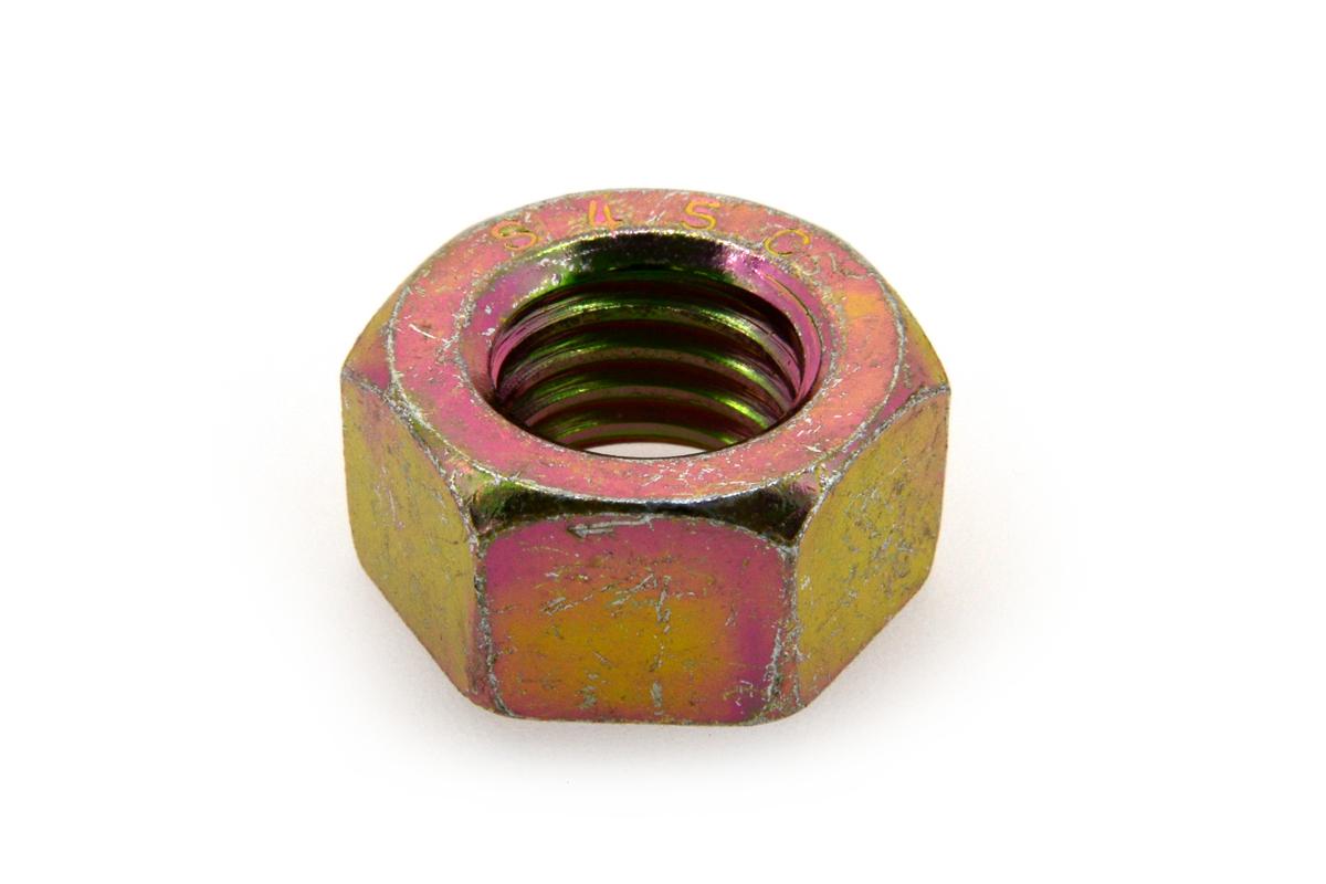 鉄(S45C)/クロメート 六角ナット [1種] (細目)M33 《ピッチ=3.0》 【 小箱 : 1箱/30個入り 】
