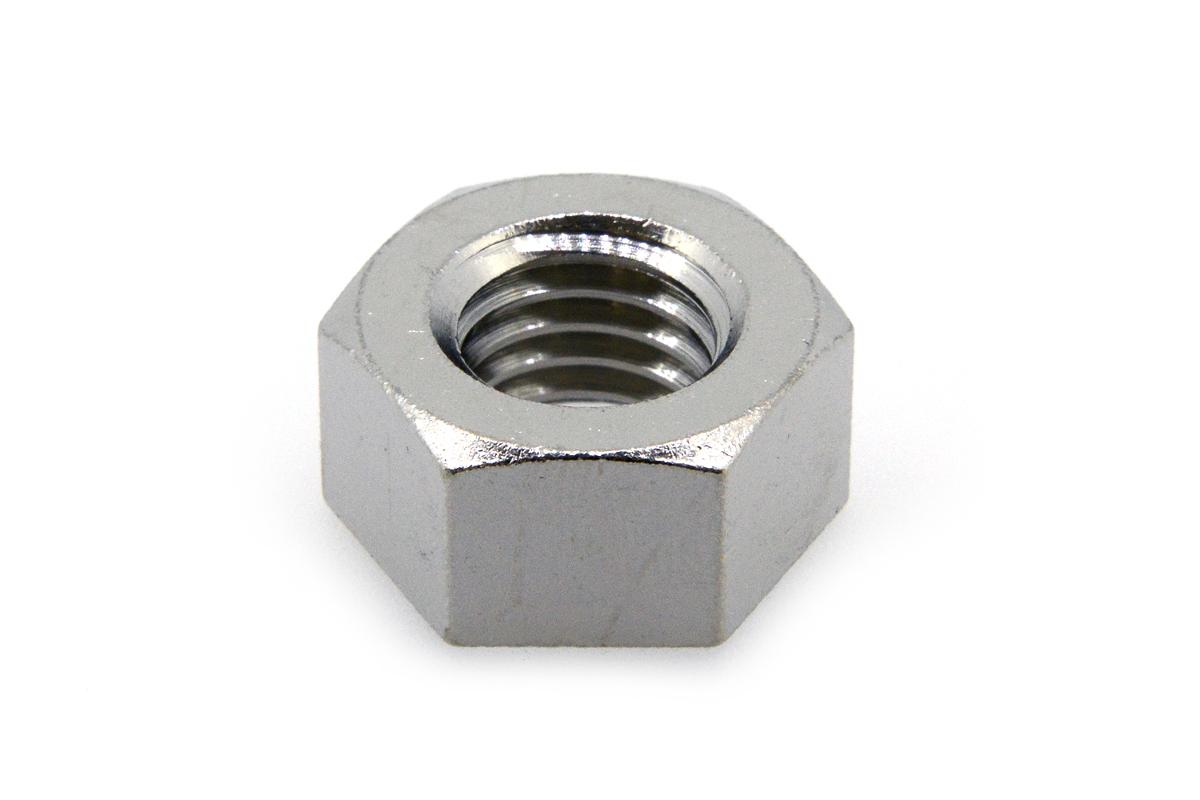 低カドミウム黄銅/ニッケル 六角ナット [1種] (細目)M18 《ピッチ=1.5》 【 小箱 : 1箱/100個入り 】