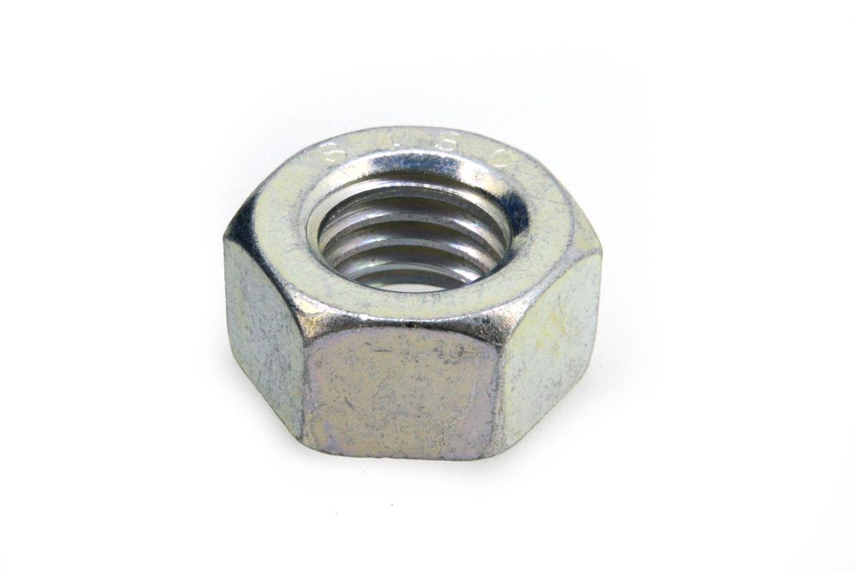 鉄(S45C)/三価ホワイト 六角ナット [1種] (左ねじ)M36 【 お得セット : 10個入り 】