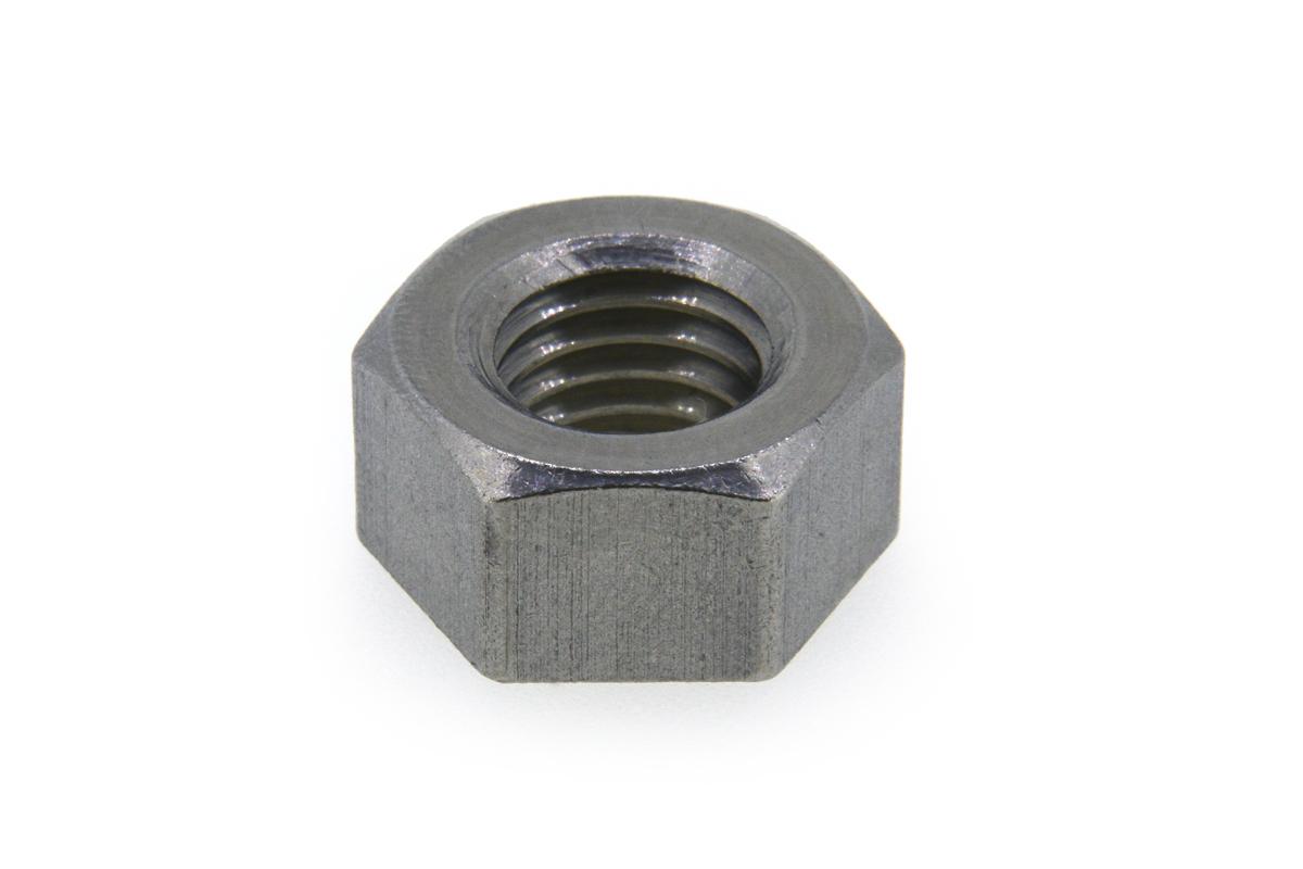 ステンレス/生地 六角ナット [1種] 切削加工(左ねじ) M27 【 お得セット : 10個入り 】