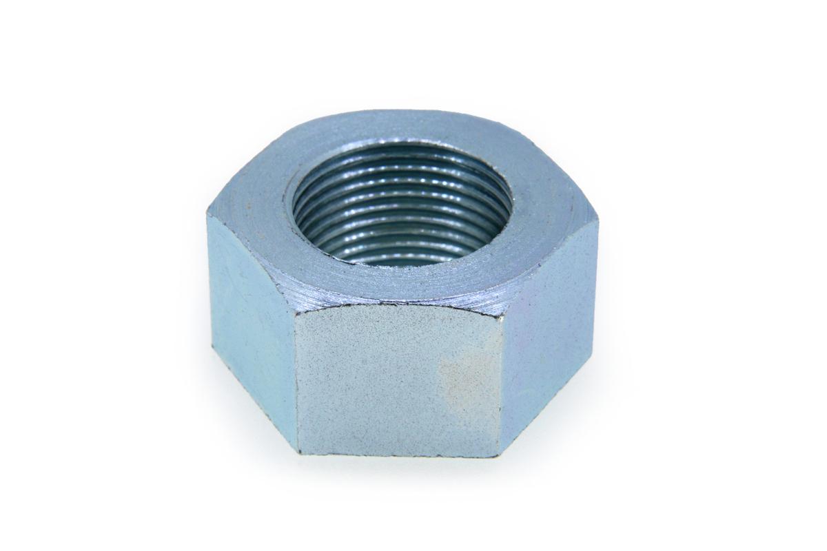 鉄/ユニクロ 六角ナット [1種] 切削加工(左ねじ・細目) M30 《ピッチ=2.0》 【 お得セット : 10個入り 】