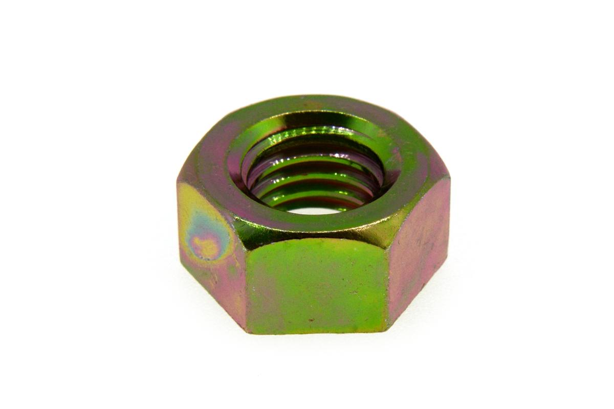 鉄/クロメート 六角ナット [1種] (左ねじ・細目)M16 《ピッチ=1.5》 【 小箱 : 1箱/100個入り 】