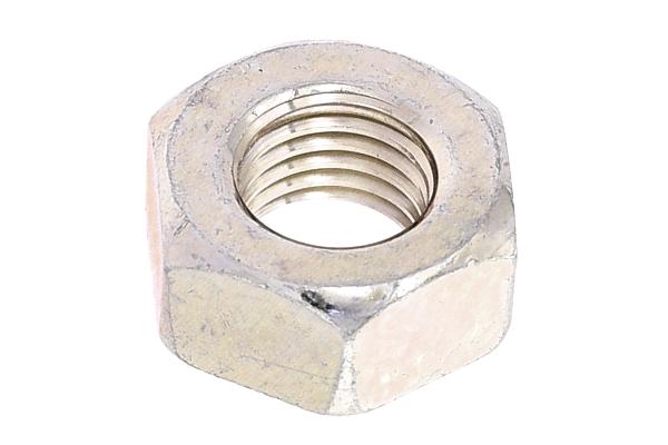 鉄/三価ホワイト 六角ナット [1種] (左ねじ・細目)M12 《ピッチ=1.25》 【 小箱 : 1箱/200個入り 】