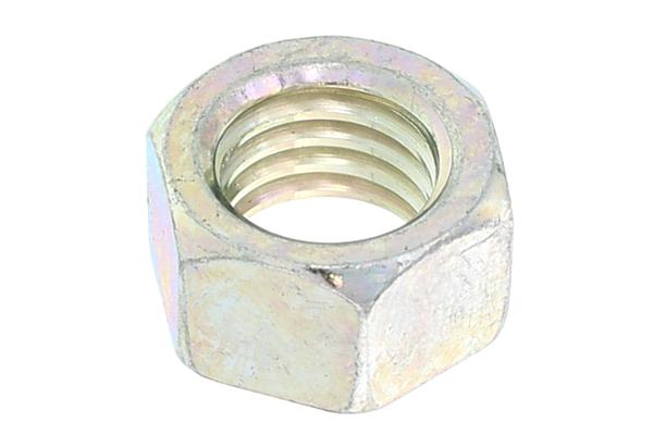 鉄/三価ホワイト 小形 六角ナット [1種]M20 【 小箱 : 1箱/65個入り 】