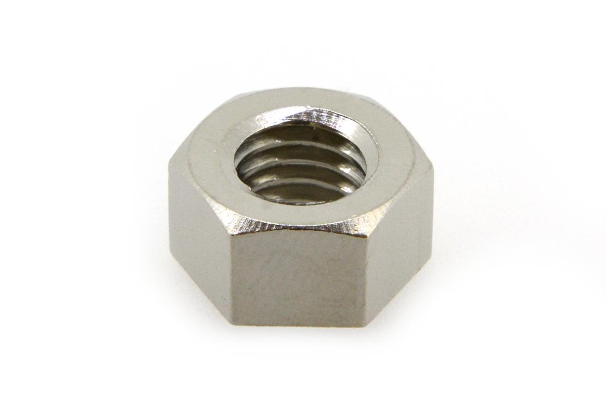 低カドミウム黄銅/ニッケル 小形 六角ナット [1種]M8 【 小箱 : 1箱/500個入り 】