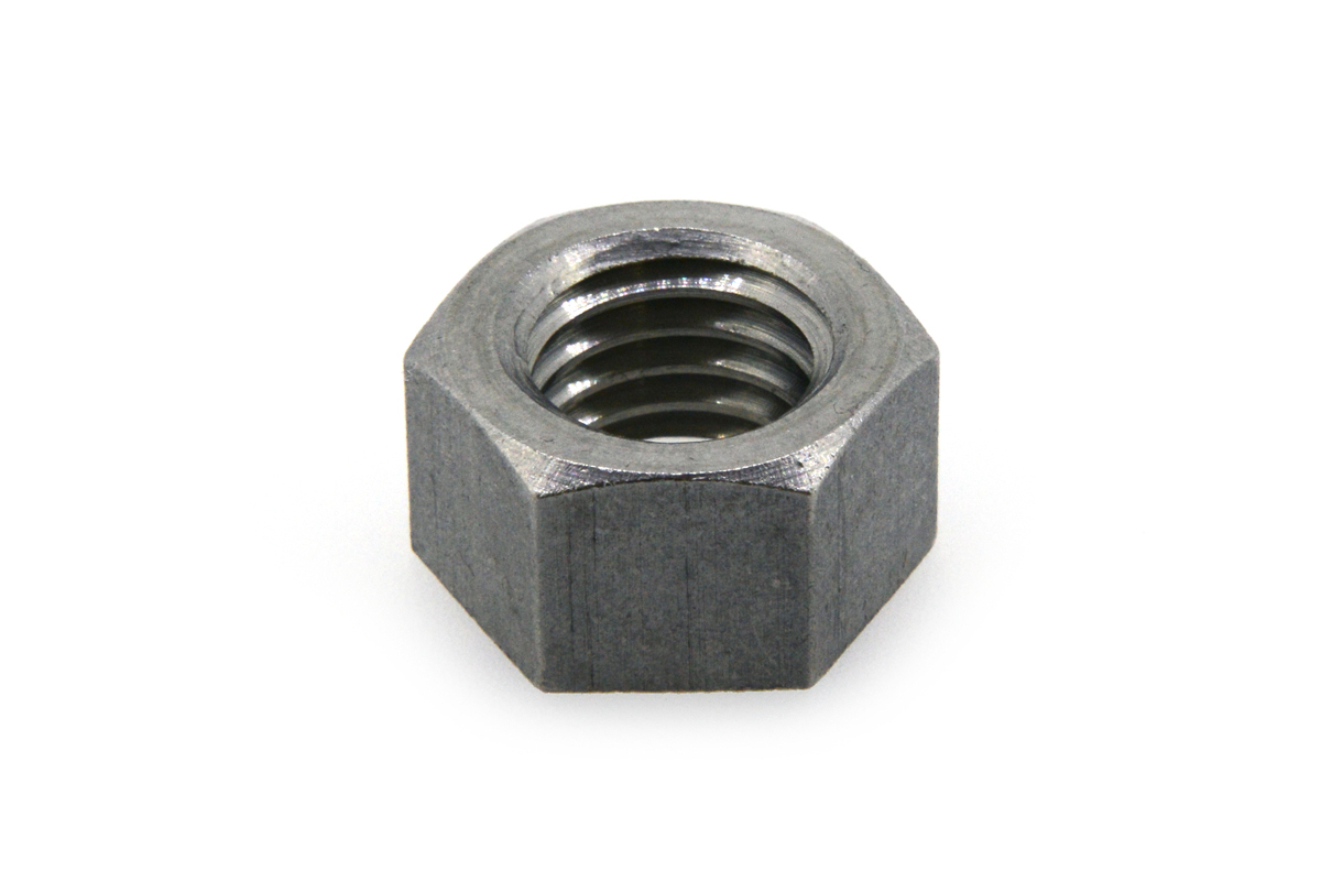 ステンレス/生地 小形 六角ナット [1種] (左ねじ)M24 【 小箱 : 1箱/50個入り 】